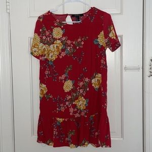 3 for $15 Forever 21 Red Floral Dress